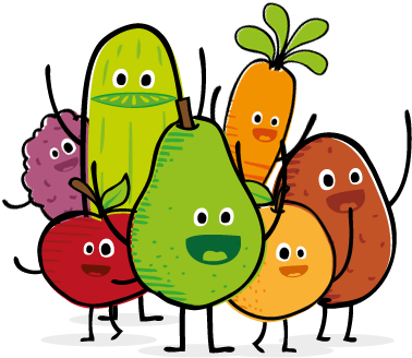 Food Clipart Png 02 - Healthy Food Clipart Transparent (380x340)