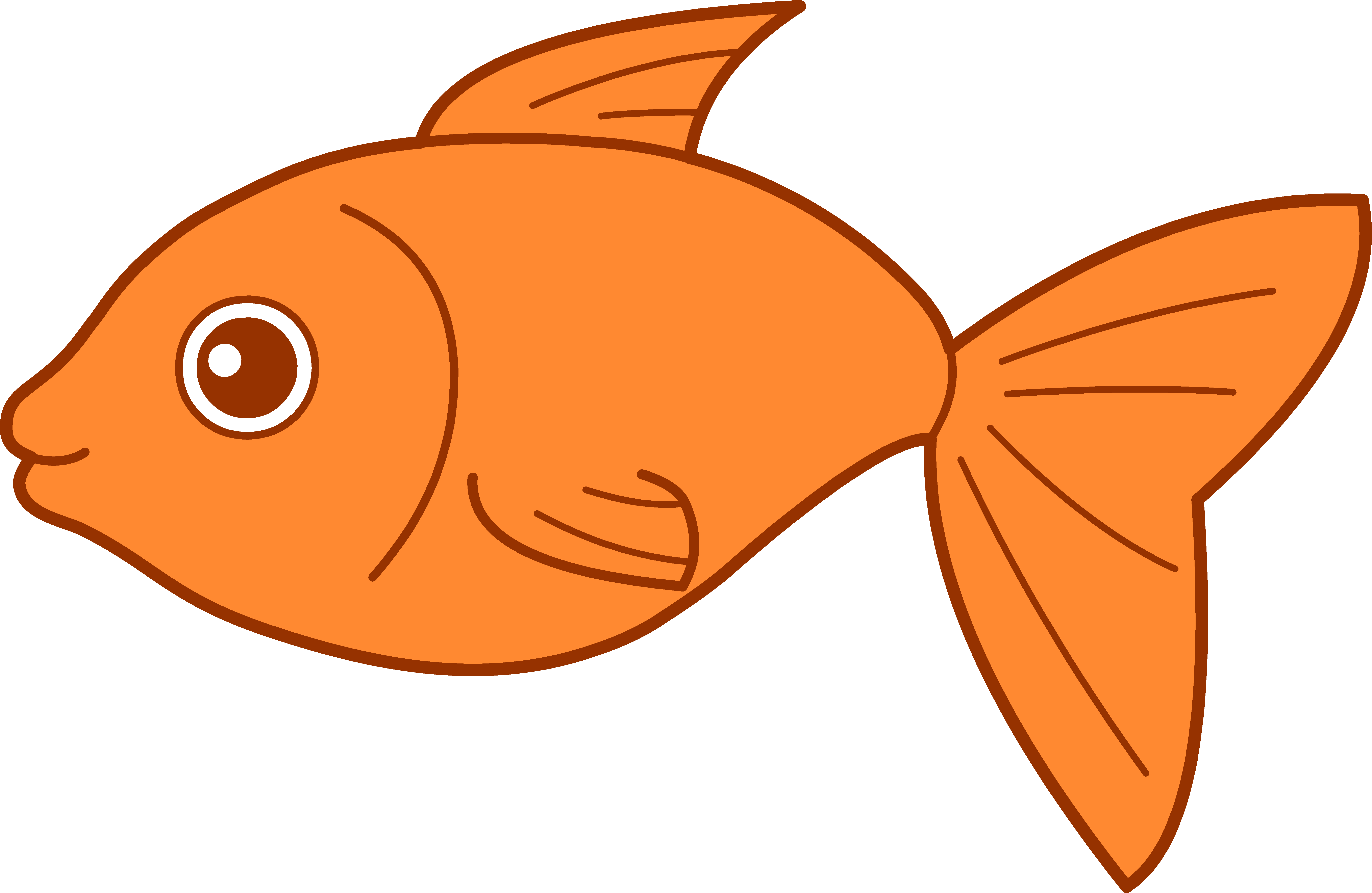 Cartoon Fish Pictures For Kids Clipart Library Clip - Clipart Fish (6805x4431)