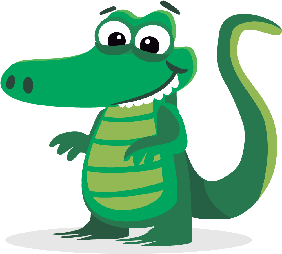 Alligator Cartoon Quiz - See You Later Quotes (1000x1000)