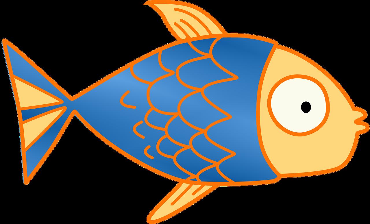 Fish Kids Clip Art Pink Cartoon Educational Cute - Fish Clipart (1280x775)
