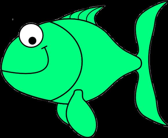 Green Fish Clip Art - Green Fish Clipart (640x480)