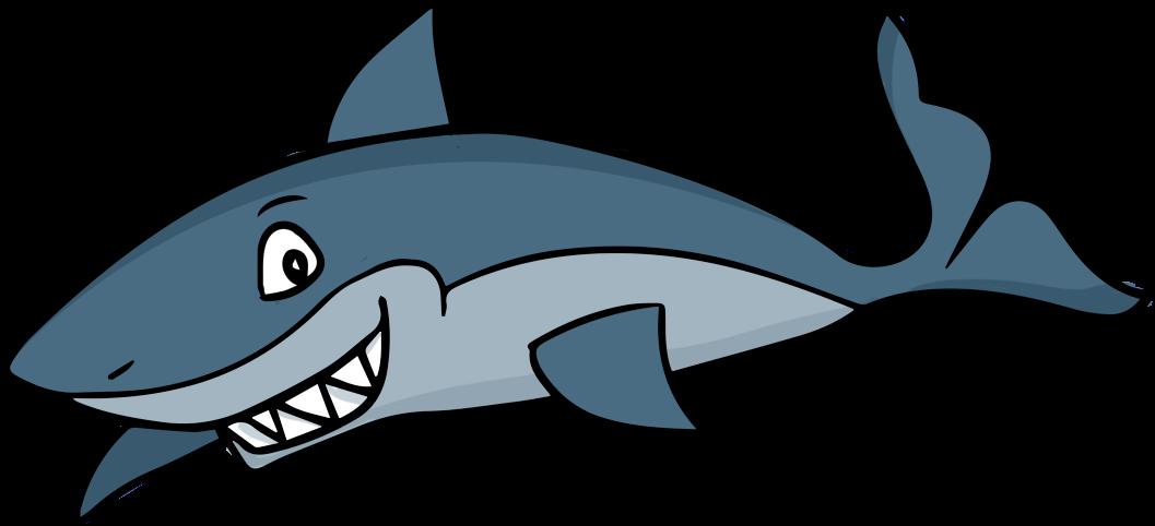 Shark - Clipart - Clip Art Shark (1082x610)
