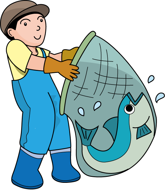 Fishing Clipart On Clip Art Fishing And Fish Clipartcow - Fisherman Clip Art (553x636)