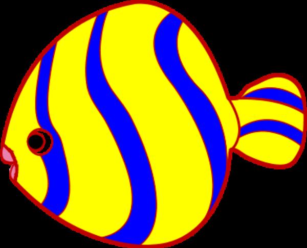 Gallery Clipart Cute Fish - Clip Art Fish Cute (600x486)