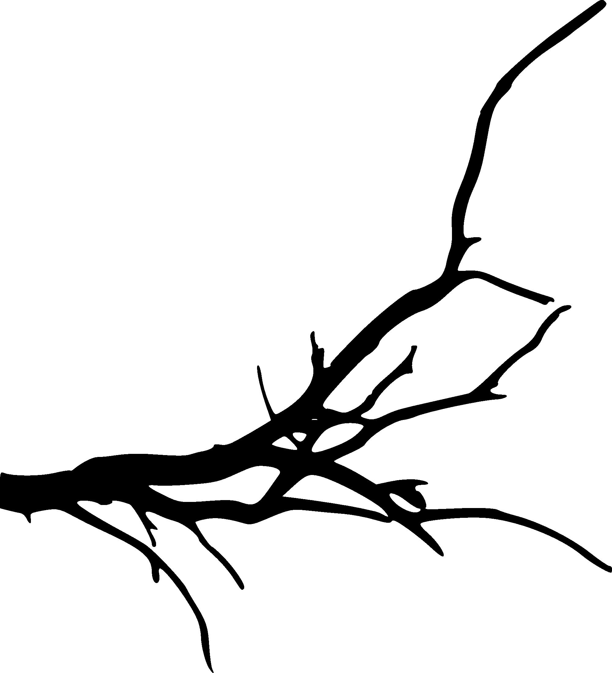 картинка веточка дерева без листьев русской мифологии ящерица