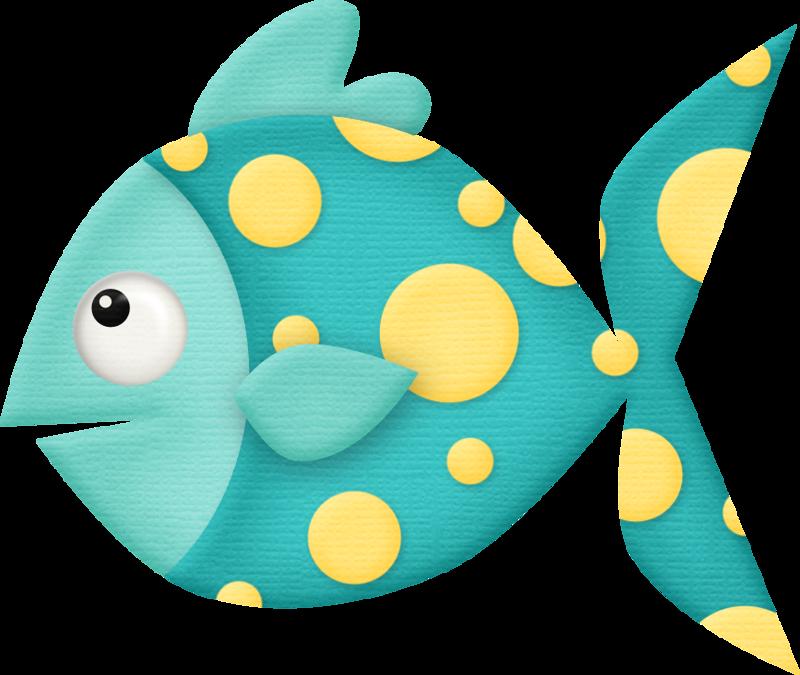 Teal Fish - Teal Fish Clipart (861x727)