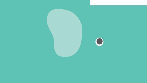 Elephant Clipart Teal - Elephant Clipart Png (600x339)