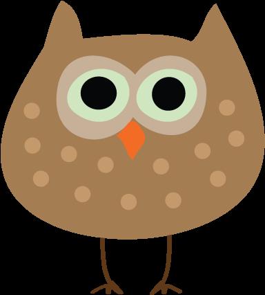 Autumn Owl Thanksgiving Clip Art - Fall Birds Clip Art (401x442)
