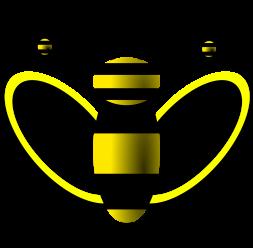 Bee Clipart - Svgz Clipart (400x400)