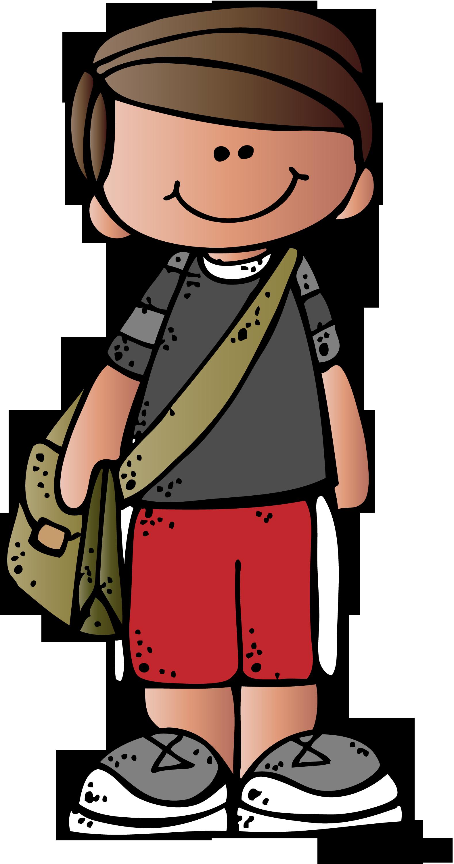Kids - - Melonheadz Boy Clipart (1579x3000)