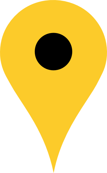 Location Clipart Yellow (366x592)