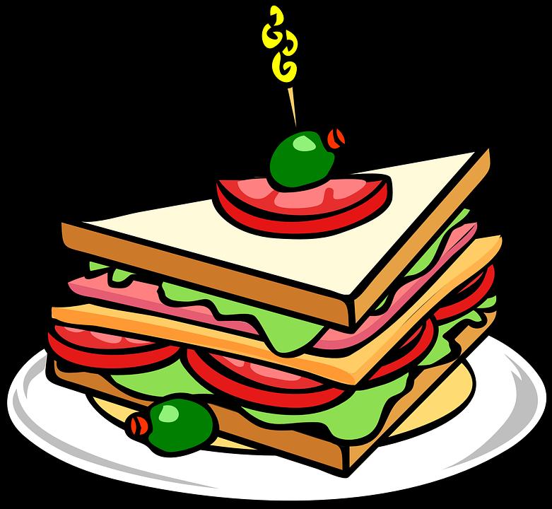 News & Announcements - Sandwich Drawing (781x720)