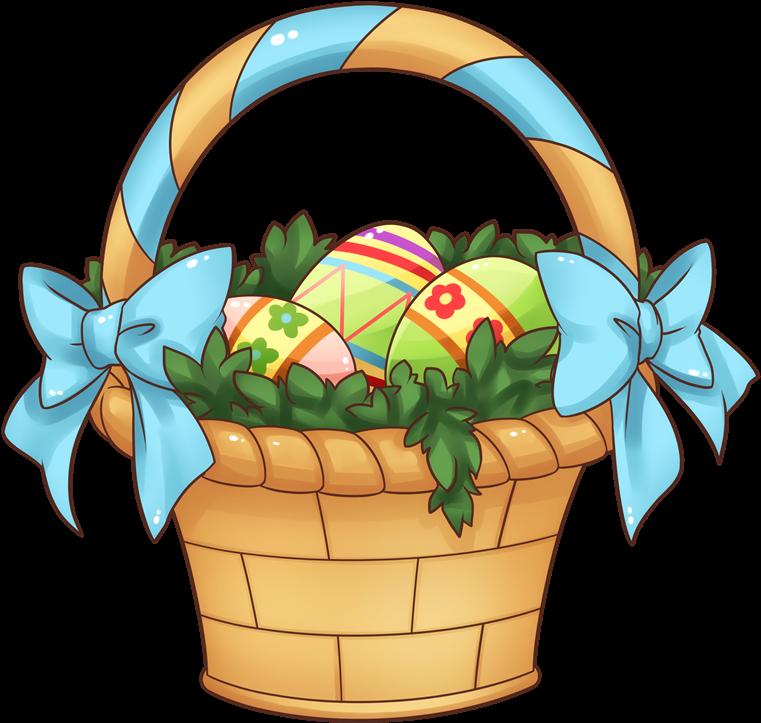 Fruit Basket Clipart Free Download Clip Art On - Easter Basket Clip Art (800x869)