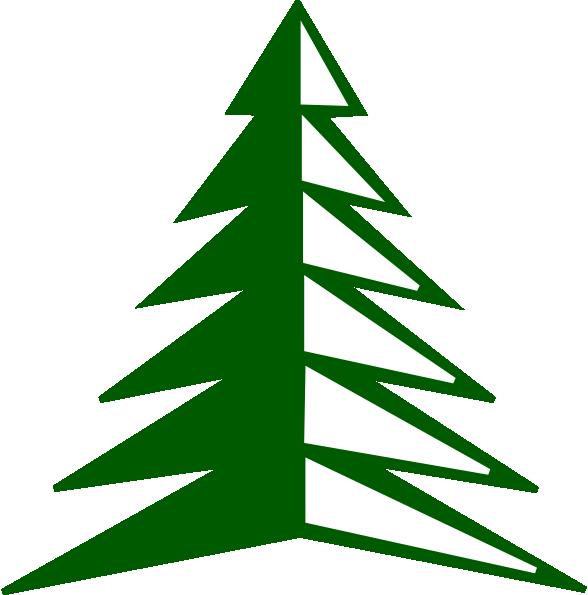Forest Tree Clip Art - Forest Tree Clip Art (588x595)