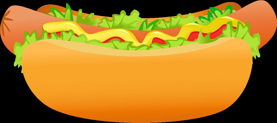Hot Dog Clip Art Clipart Photo - Hot Dog Png (1213x570)
