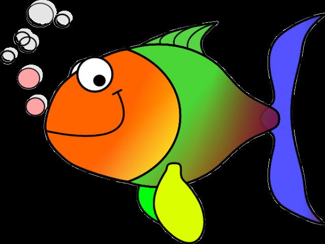 Comic Fish Clip Art At - Fish Clipart (640x480)