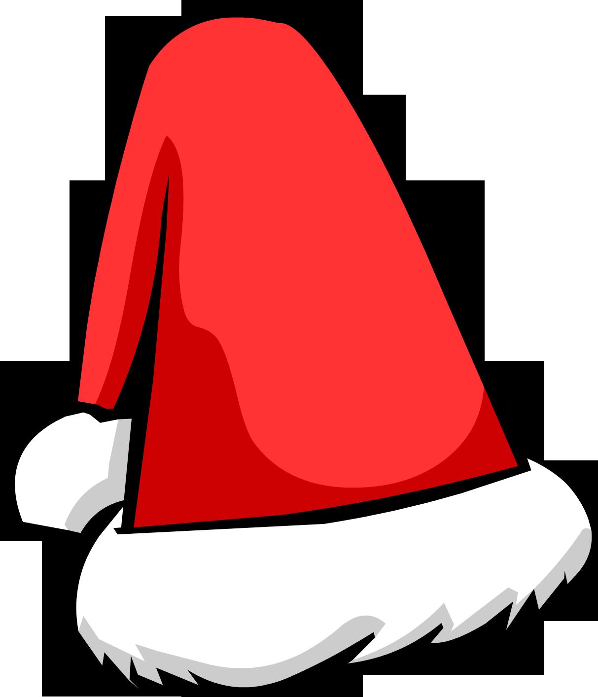 картинка новогодняя шапка деда мороза