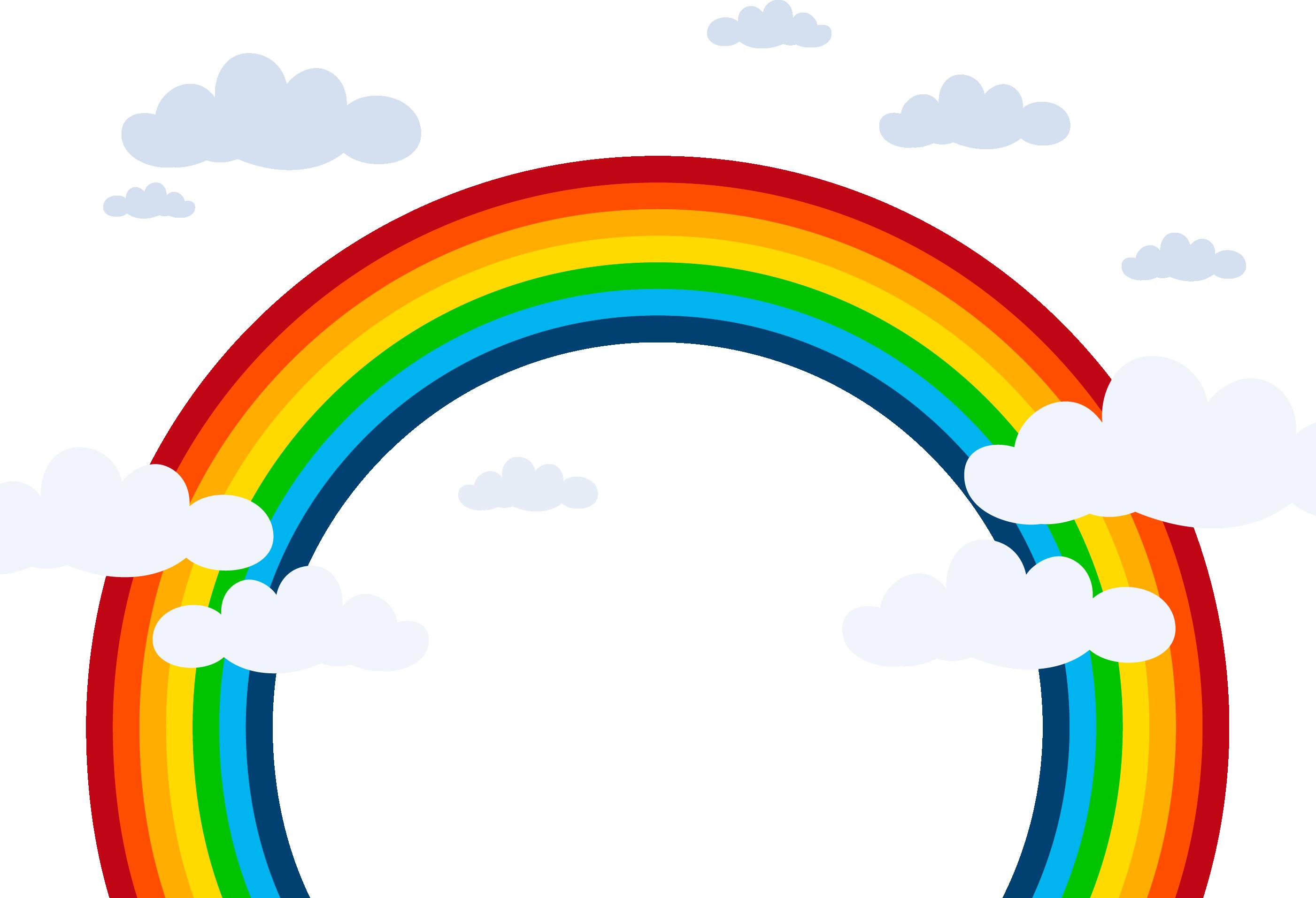 что есть картинка радуги без фона один самых прекрасных