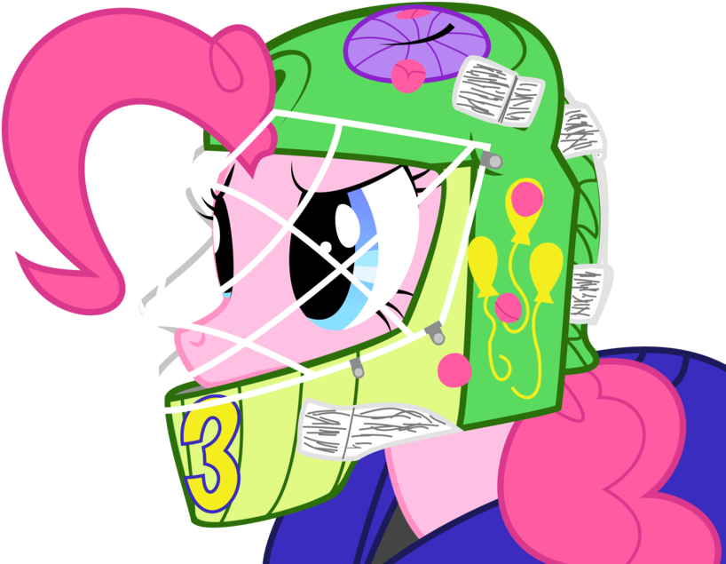 Xxfatpigxx Goalie Gummy Hockey Nhl Pinkie Pie Cartoon