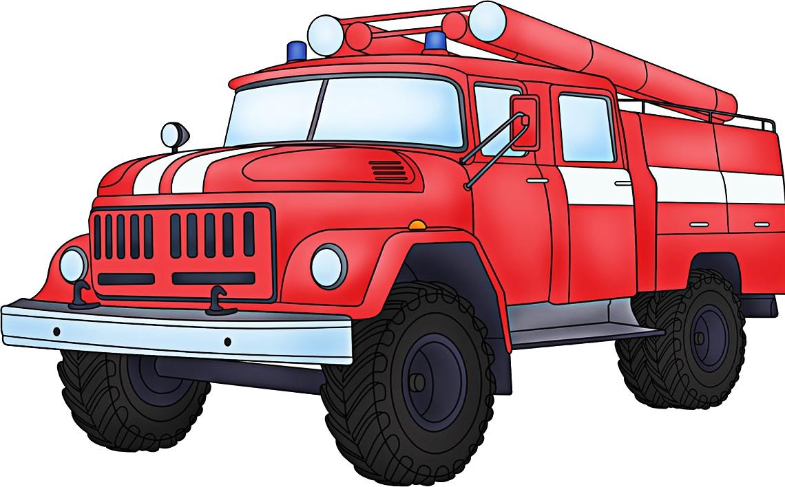 Картинка пожарная машины