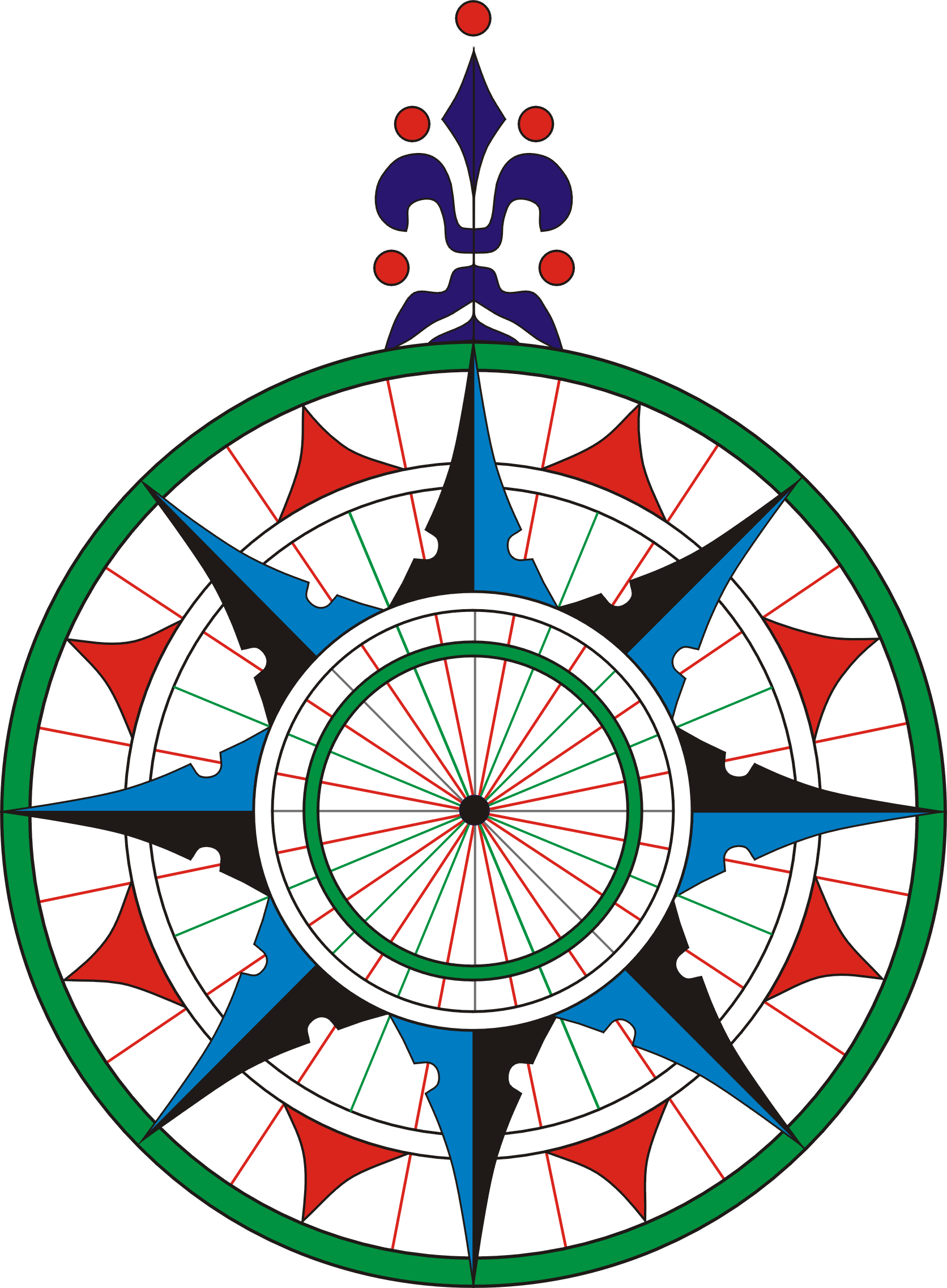 picture relating to Printable Compass Rose referred to as Printable Comp Rose 14, Order Clip Artwork - Comp Rose Png