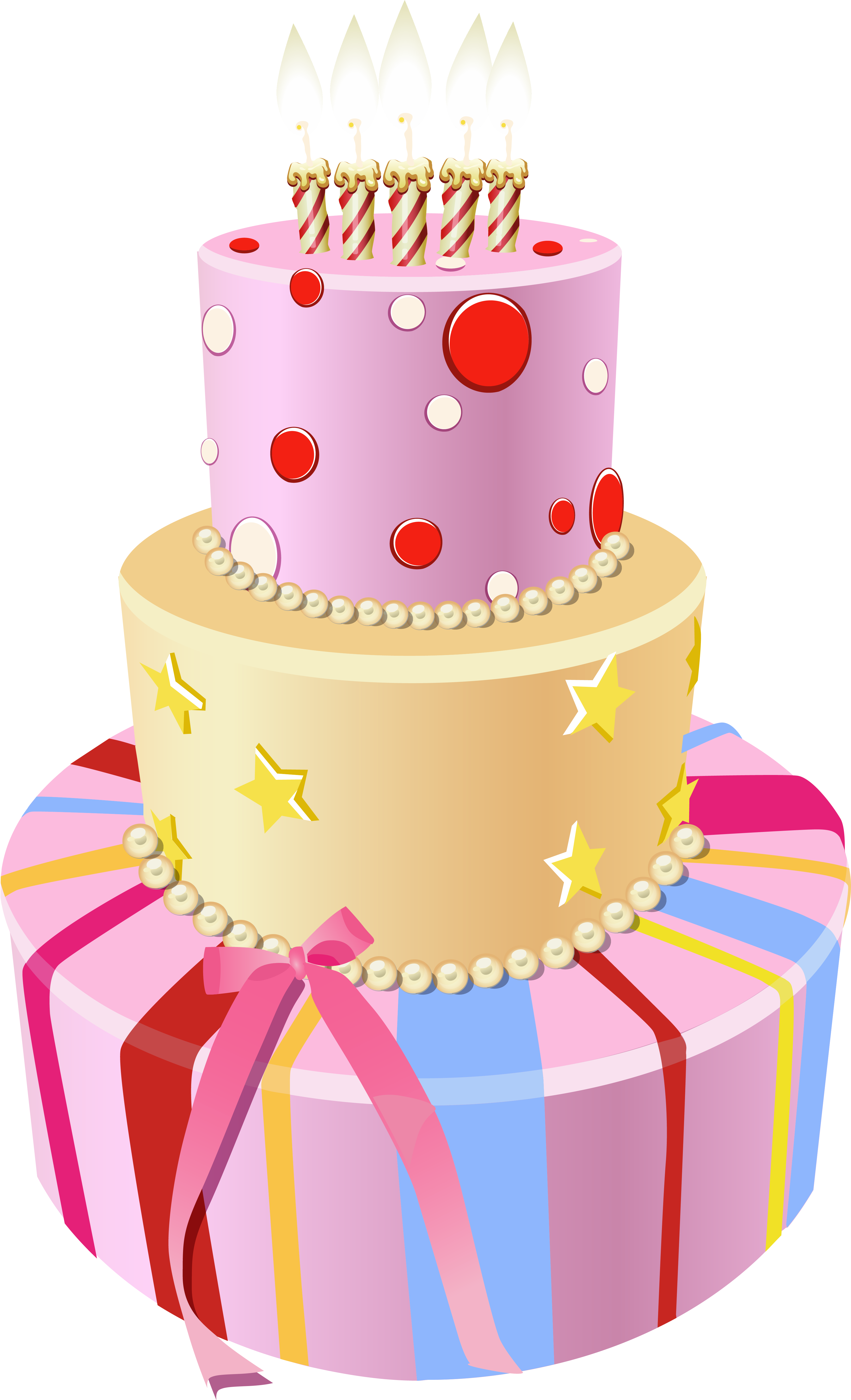 Miraculous Pink Birthday Cake Clipart Clipartxtras Dear Friend Happy Funny Birthday Cards Online Elaedamsfinfo