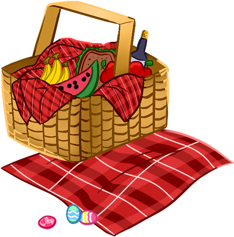 Picnic Basket Clipart Download Picnic Basket Clipart Cartoon Picnic Basket Png 500x491 Png Clipart Download