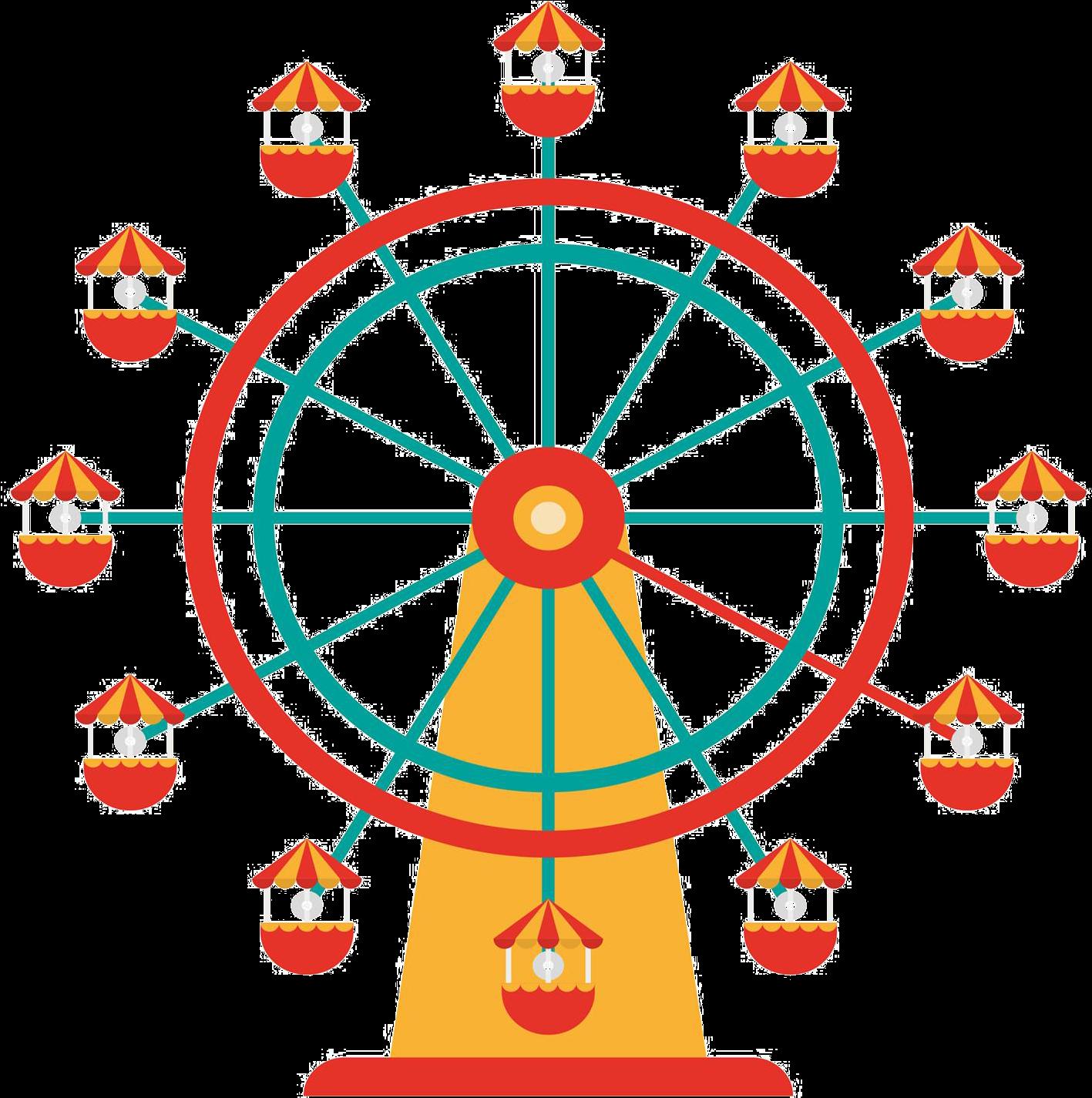 нее картинка колесо обозрения без фона овальным типом