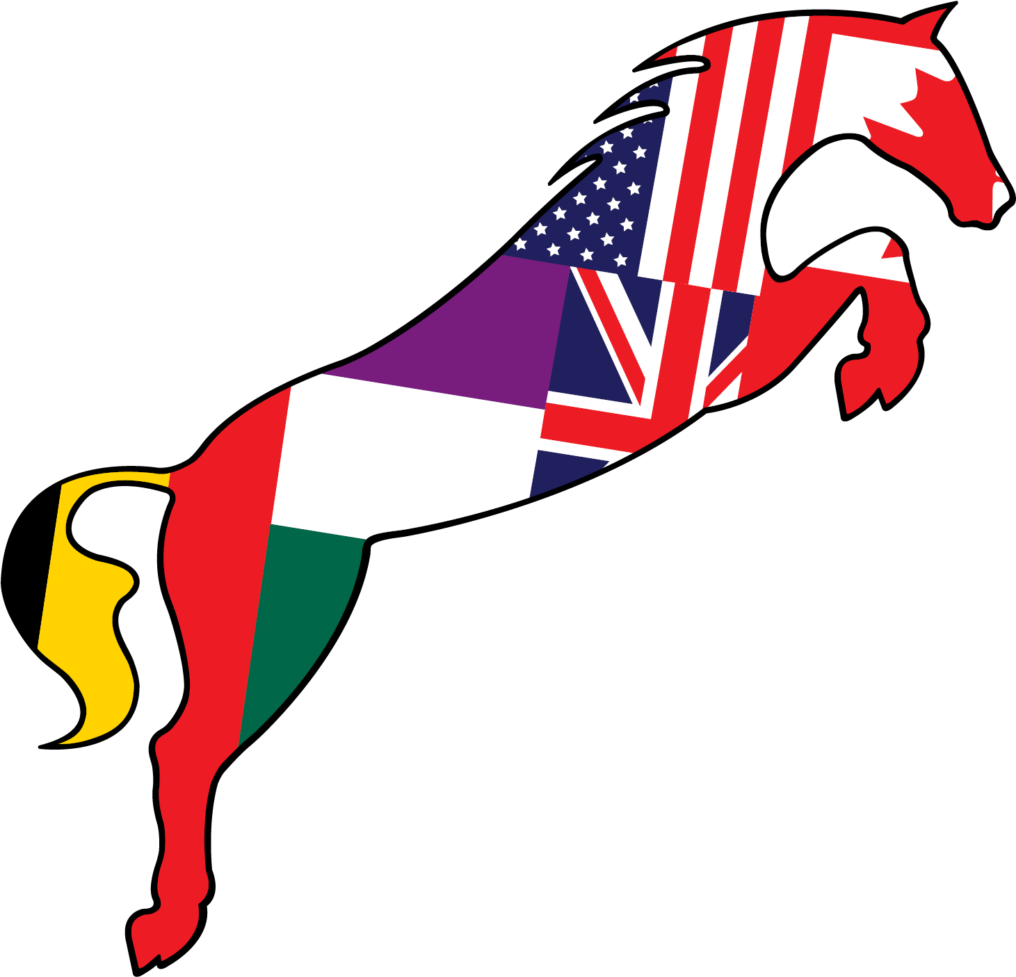 Longines Fei World Cup Jumping And Fei World Cup Dressage - Logo (1500x1500)