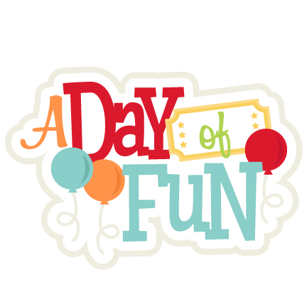 A Day Of Fun Svg Scrapbook Title Amusement Park Svg - Fun Day In The Park (432x432)