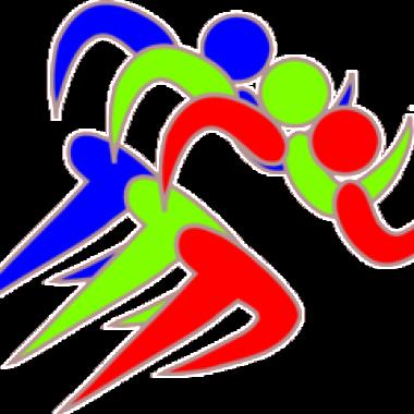 Fun Run Friendly Clipart - Fun Run Clip Art (380x380)