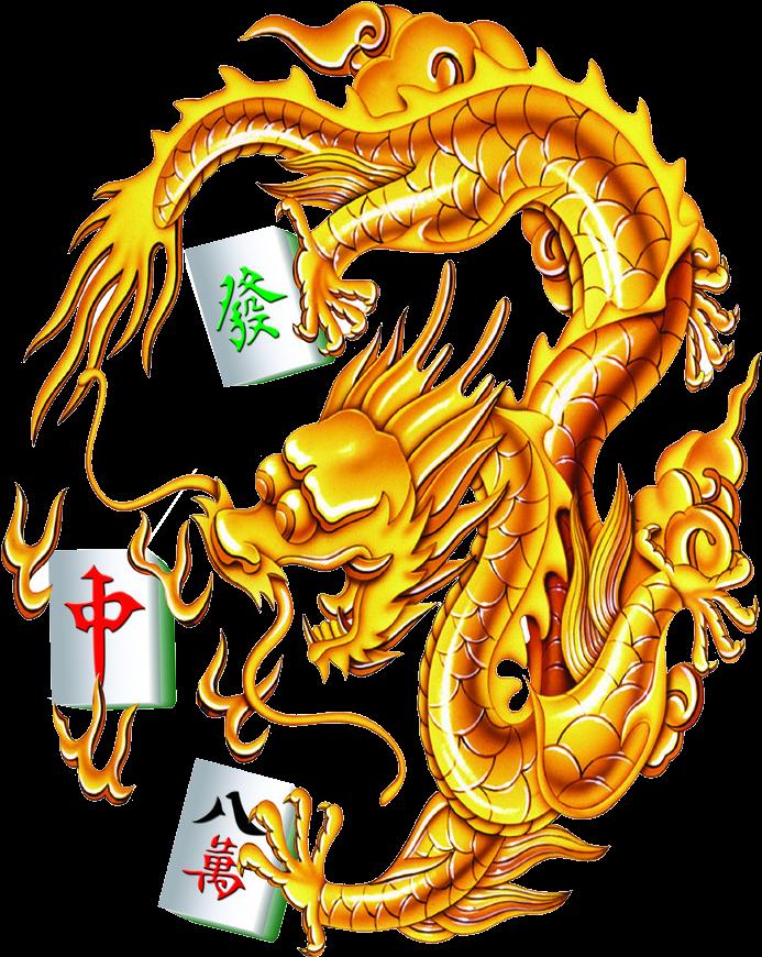 Китайские открытки с драконом