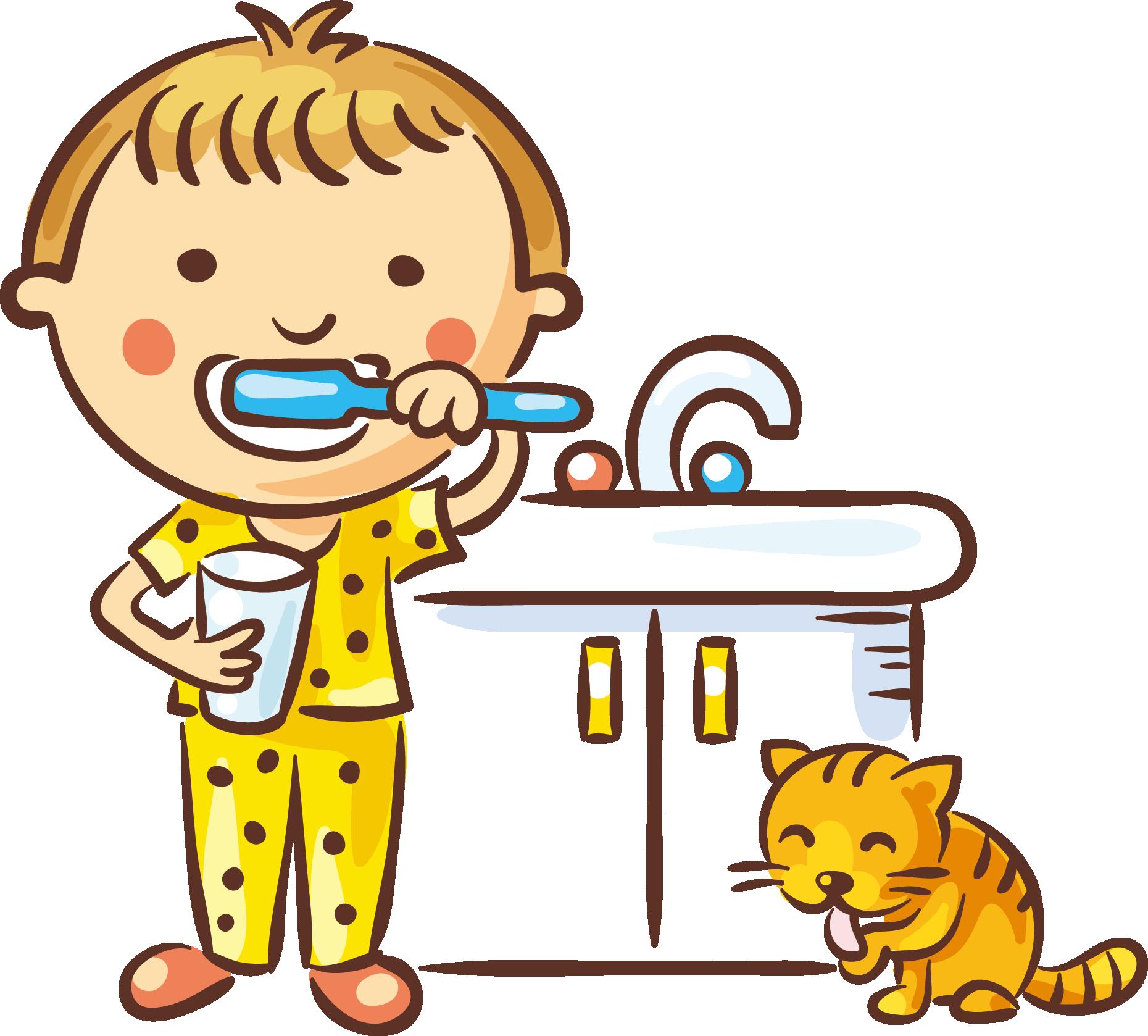 Картинка личная гигиена для детей на прозрачном фоне