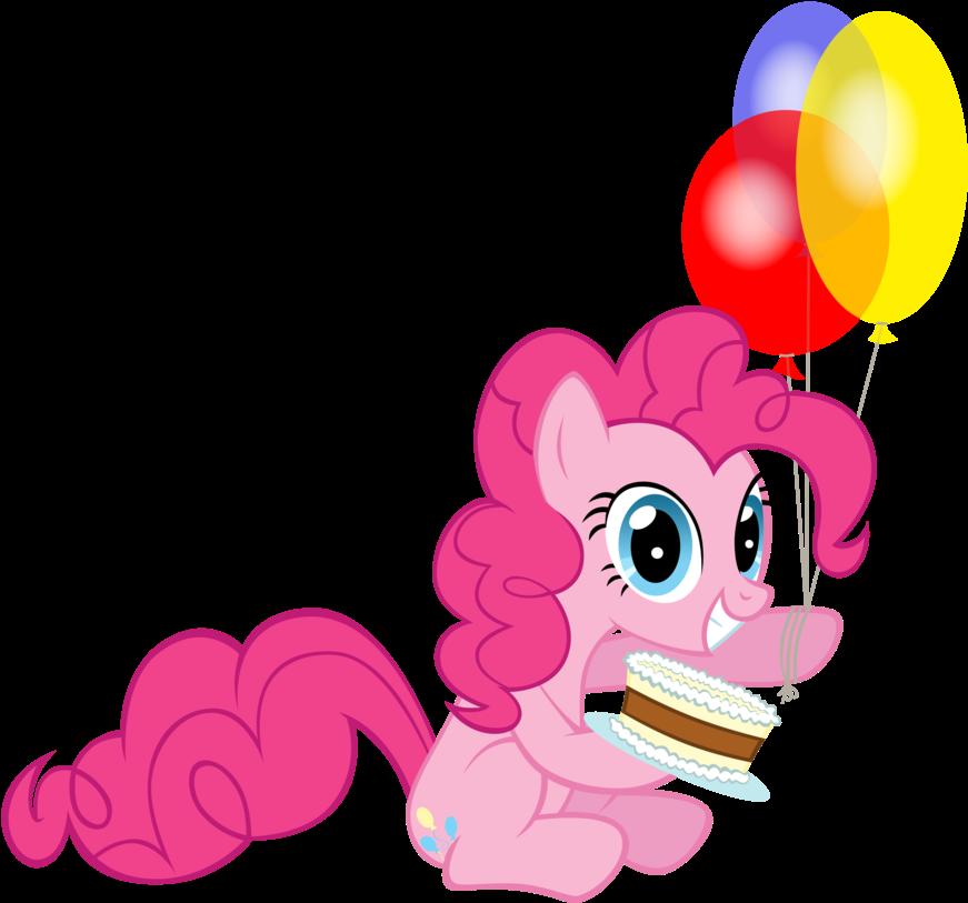 картинки пони с шариками