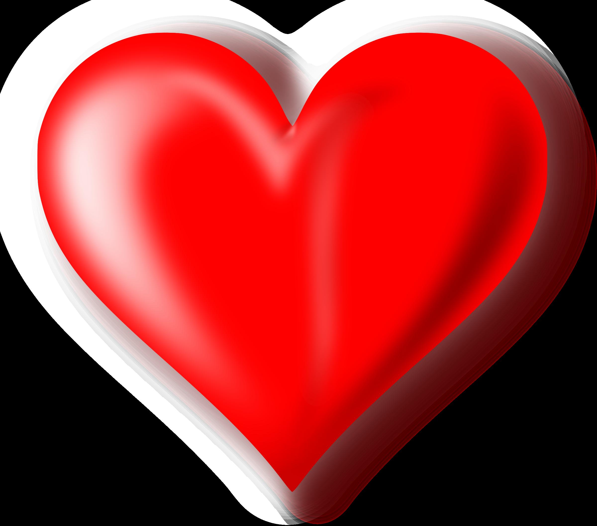imagen de corazon - HD2400×2118
