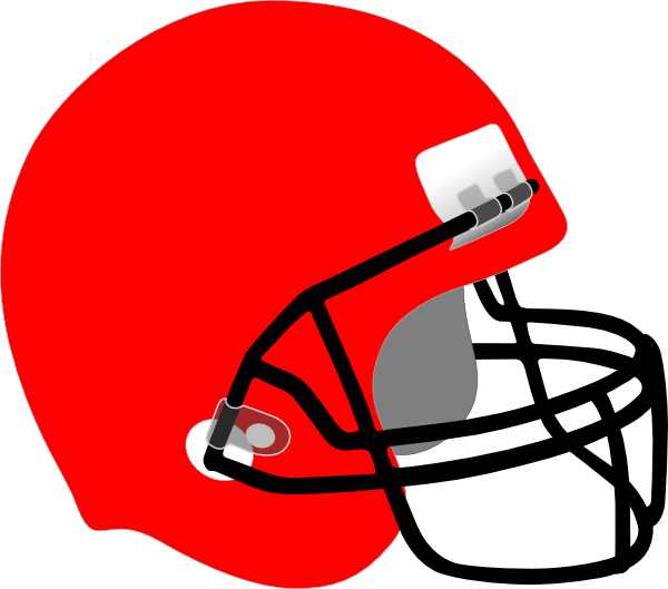 Nfl American Football Helmets Cleveland Browns Clip Red
