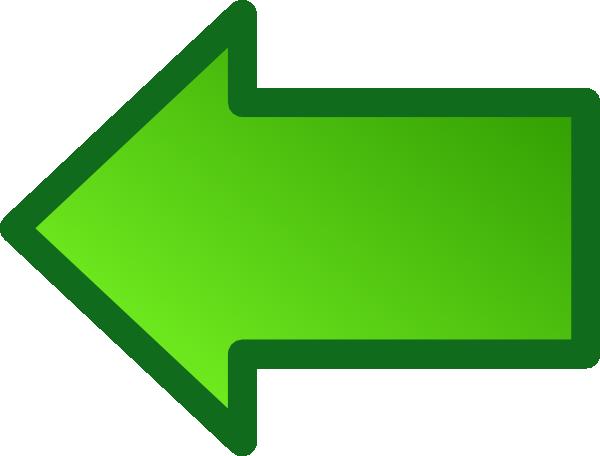 Simple Arrow Clip Art At Clker - Right And Left Arrow (600x456)