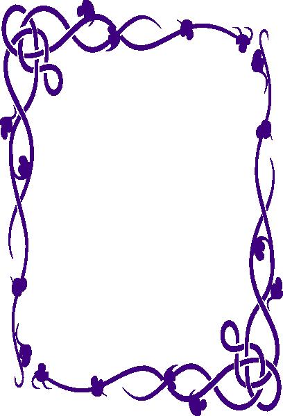 Menu Borders Transparent (408x599)