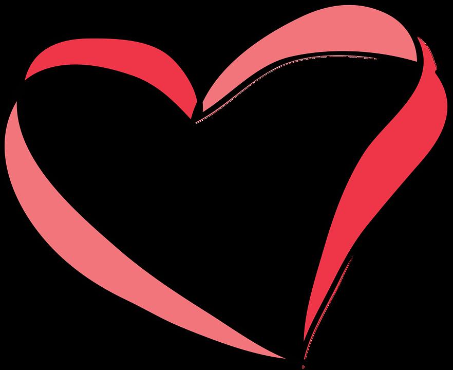 Нарисованные сердечки в картинках