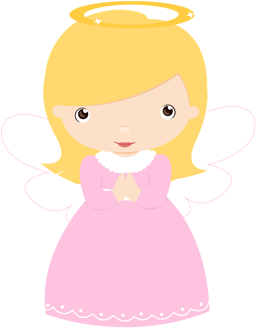 Explore Baptism Cookies, Baby Design, And More - Baby Angel Girl Vector (900x1175)