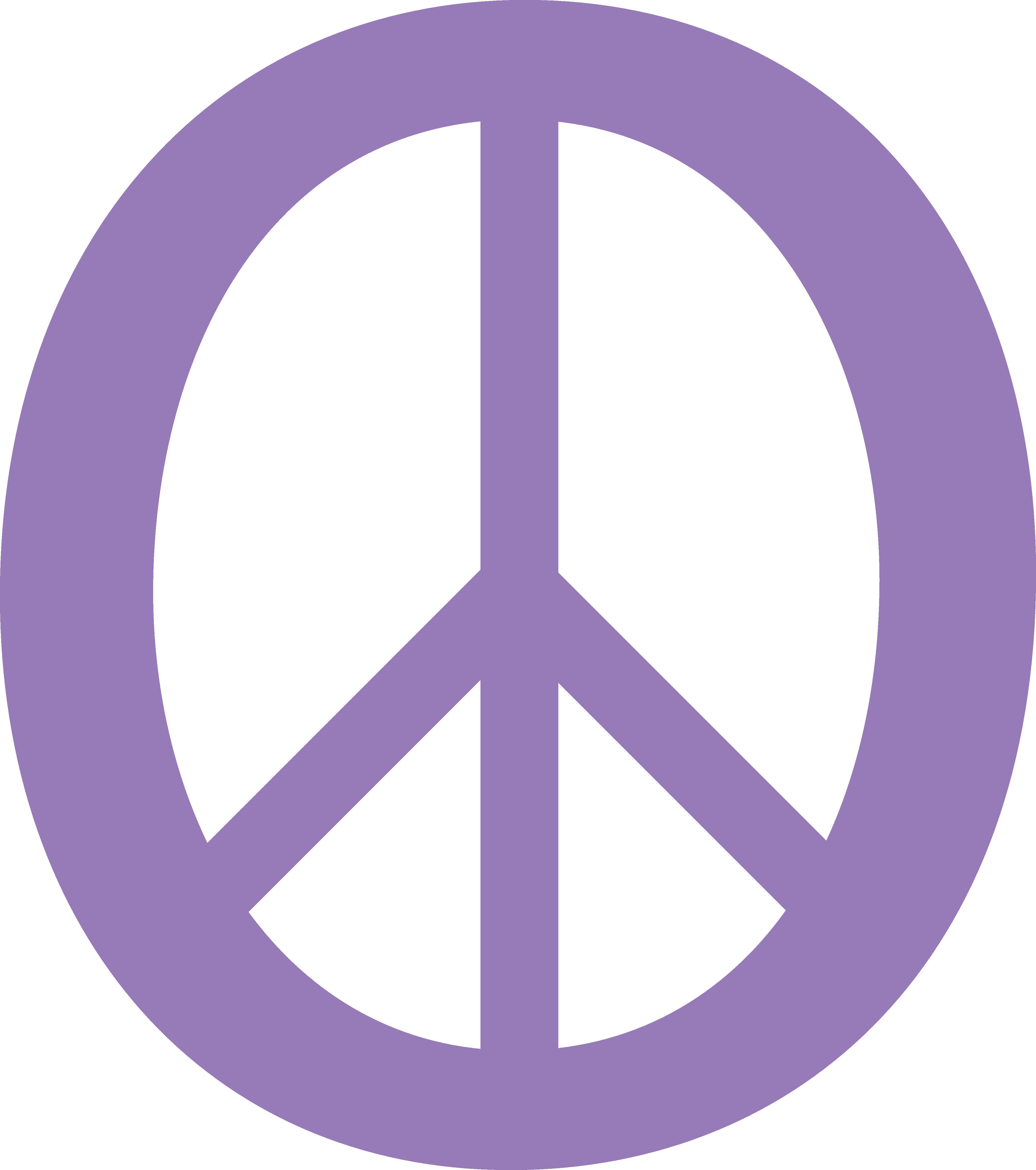 And Symbol Clip Art - Peace Symbol Emoji - (4444x5018) Png