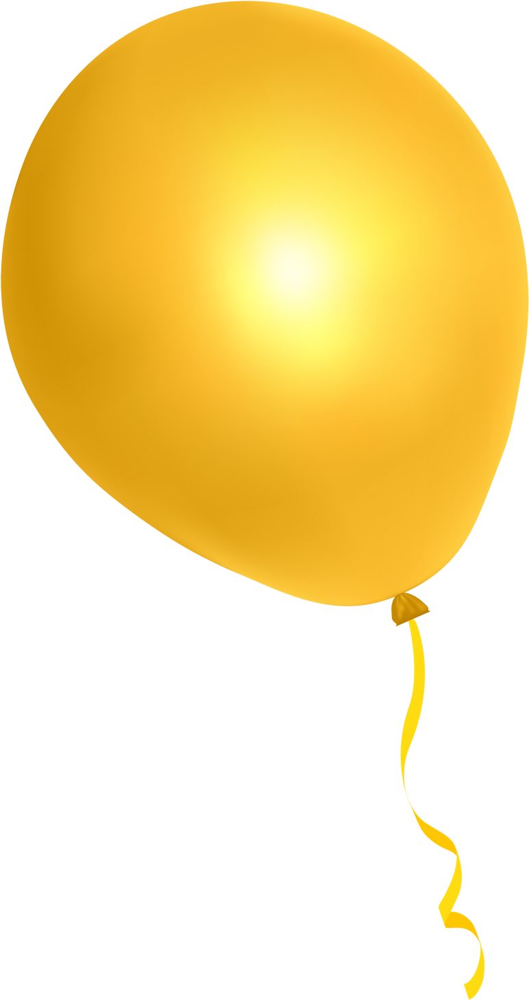 Balloon Free Png Transparent Background Images Free - Yellow Balloon Png (1000x1590)