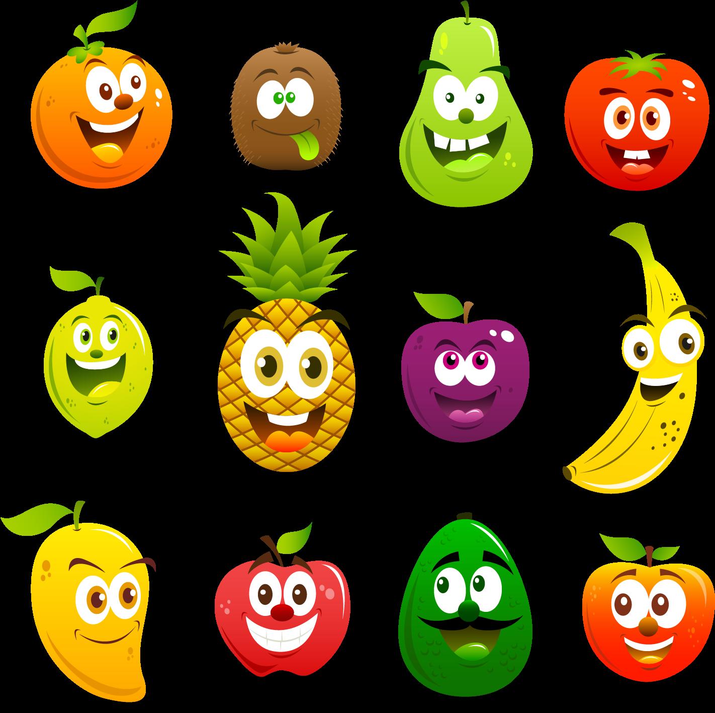 фрукты мульт картинки лучшими друзьями