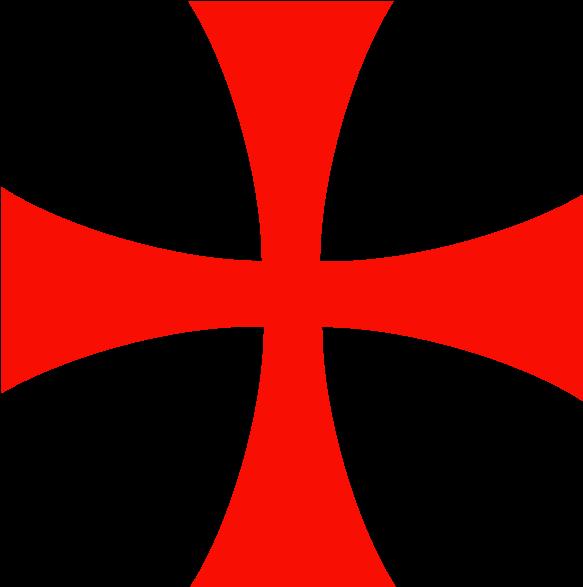 Templar Cross Tattoo Assassin S Creed Templar Logo 720x720 Png Clipart Download