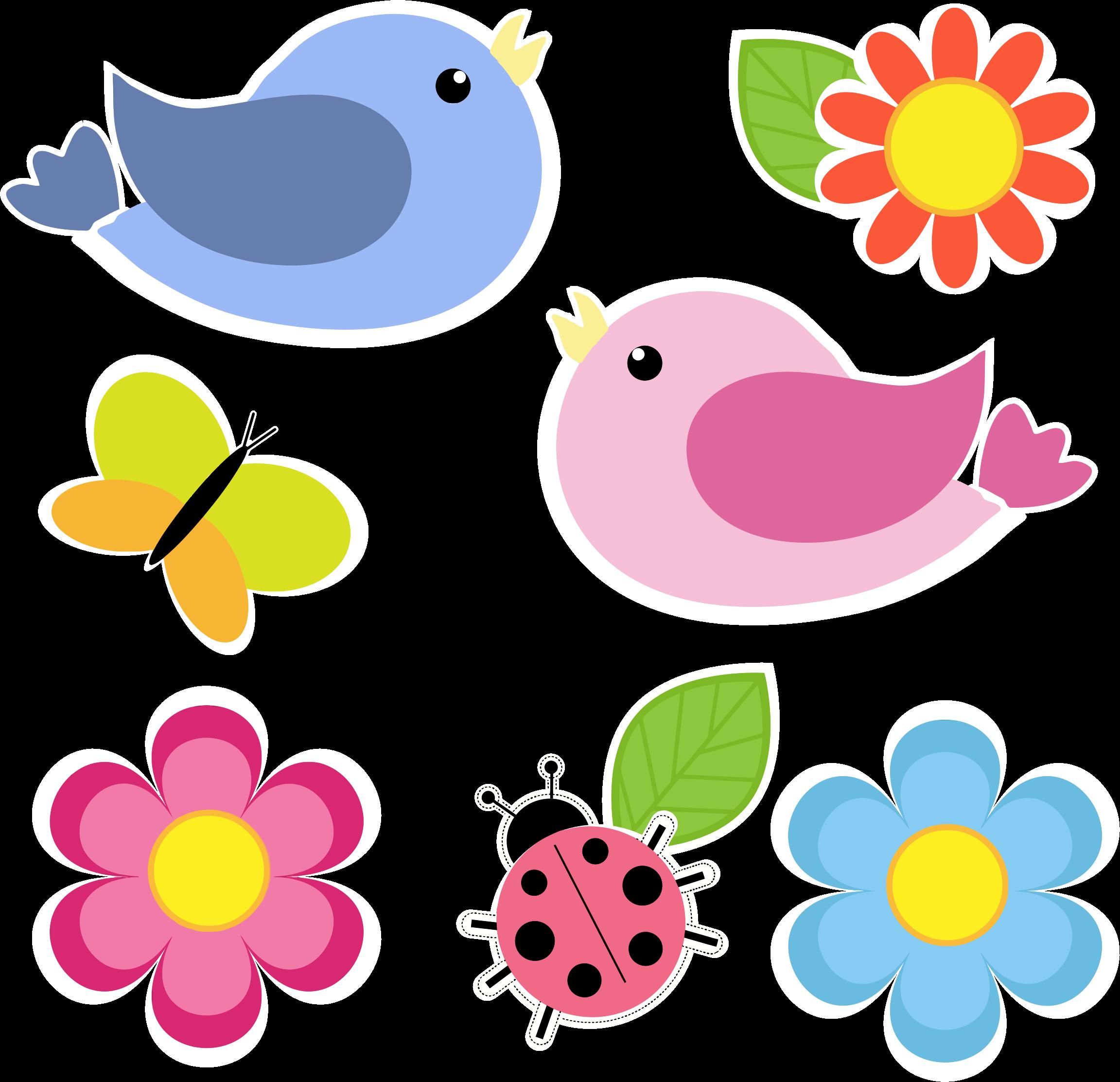 аксессуары цветные картинки с птичками визитки