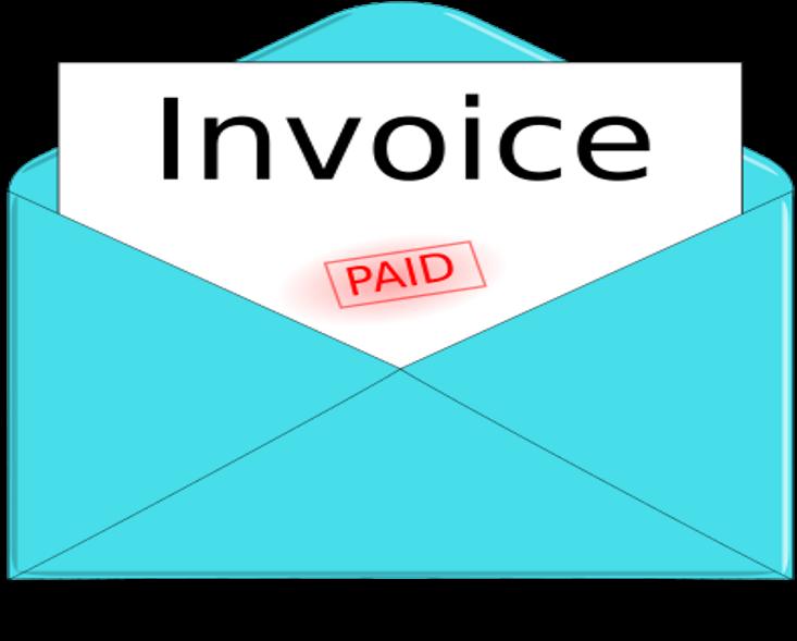 Andrew Jerrison - Invoice Clipart (900x650)