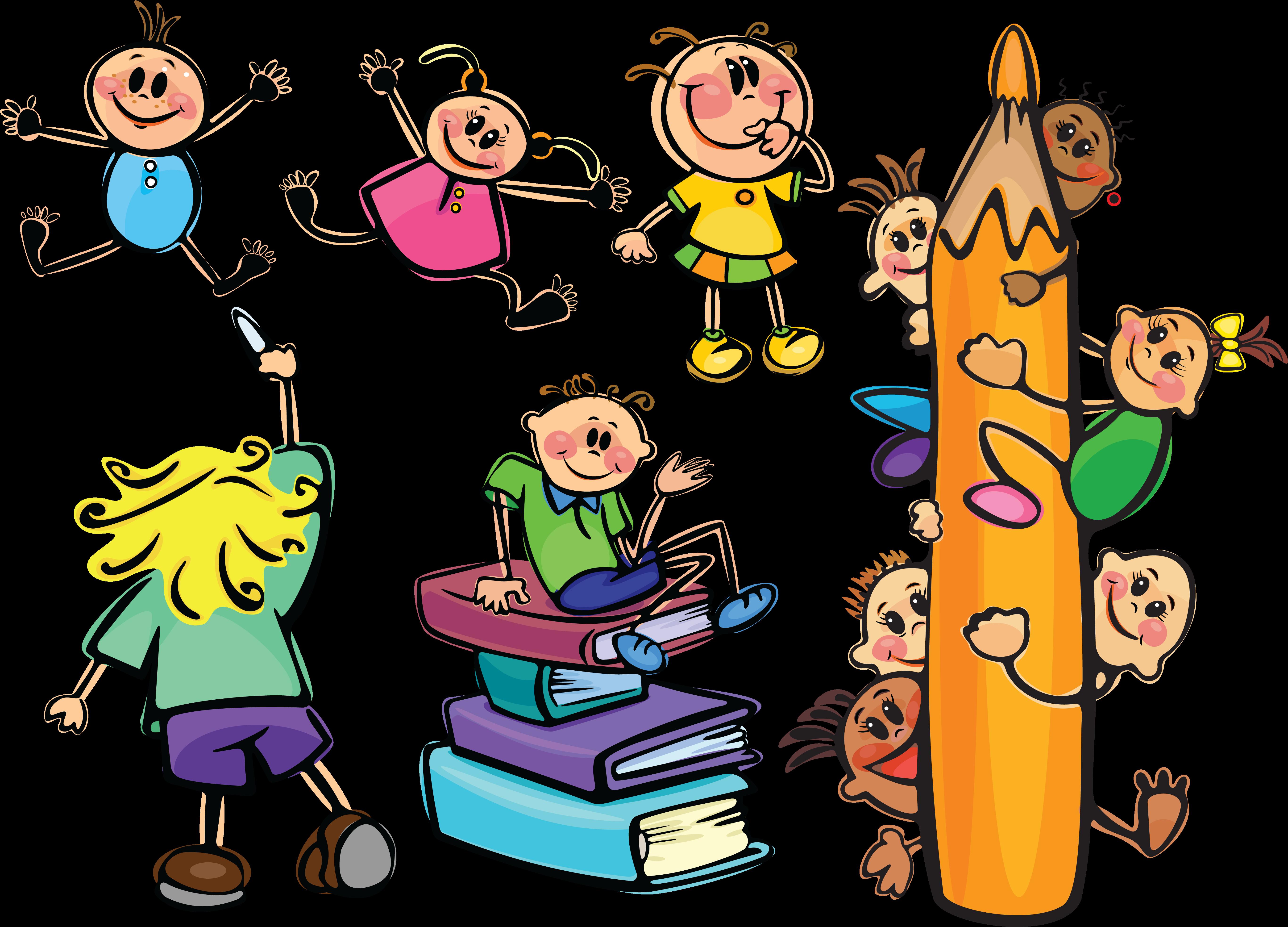 Прикольные картинки про детей и школу, изготовлению