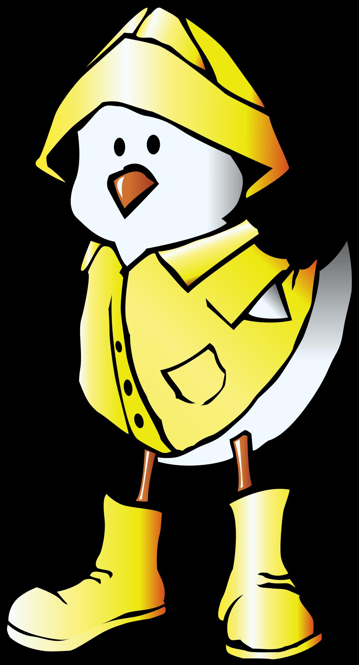 Big Image - Duck Raincoat Cartoon (1170x2168)
