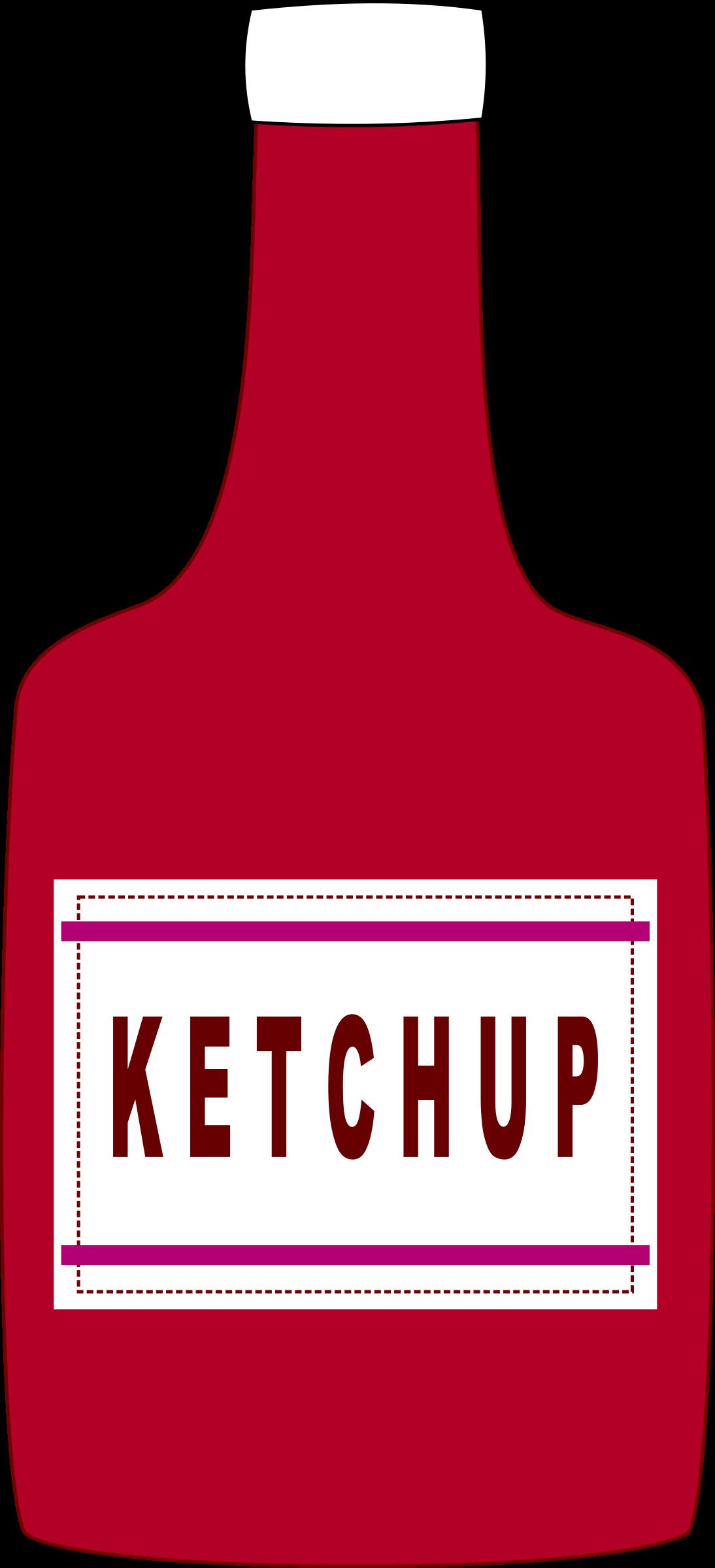 Кетчуп картинки для детей нарисованные