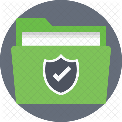 Protected Files Icon - Portrait Of A Man (512x512)